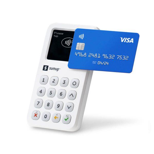 Platobný terminál SumUp 3G s platobnou kartou