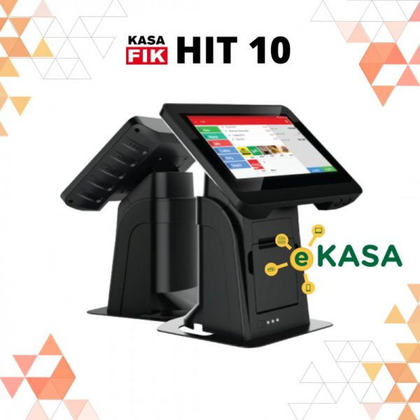 "Registračná pokladňa Kasa Fik HIT 10"" eKasa"