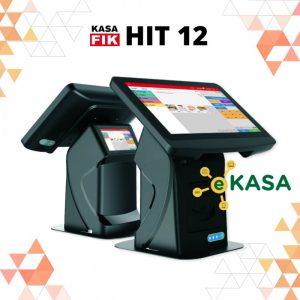 Registračná pokladňa Kasa Fik HIT 12″ eKasa