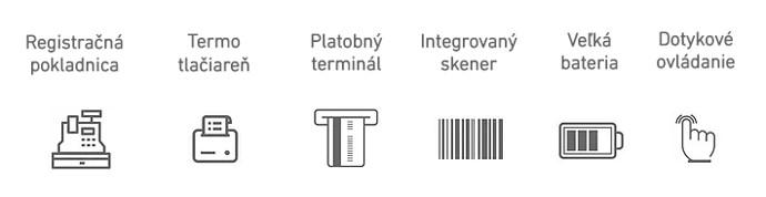 FiskalPRO A8 VRP Virtuálna registračná pokladnica parametre
