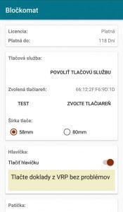 Aplikácia Bločkomat screenshot