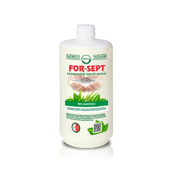 Dezinfekčné tekuté mydlo Forchem FOR-SEPT 1l fľaša TORK