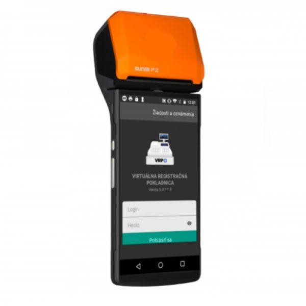 elio miniPOS P2 VRP Virtuálna registračná pokladňa