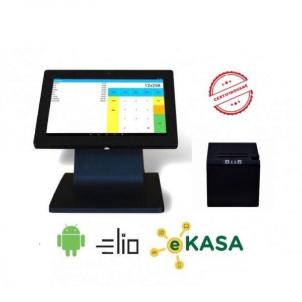 Registračná pokladňa elio zostava POS 100 Basic 10″ eKasa