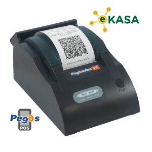 Registračná pokladňa eKasa tlačiareň Pegassino s aplikáciou PPM