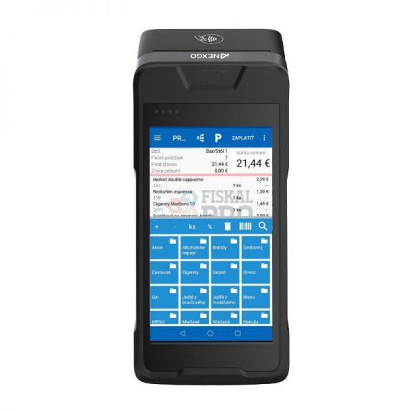 Registračná pokladňa FiskalPRO N86 mobilná eKasa