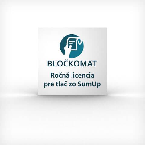 Ročná licencia pre Bločkomat SumUp