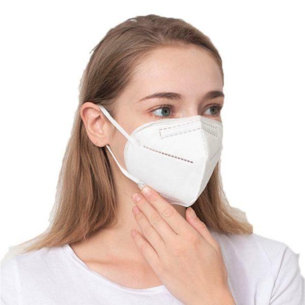 Rúško na tvár respirátor KN95-FFP2 bez ventilu